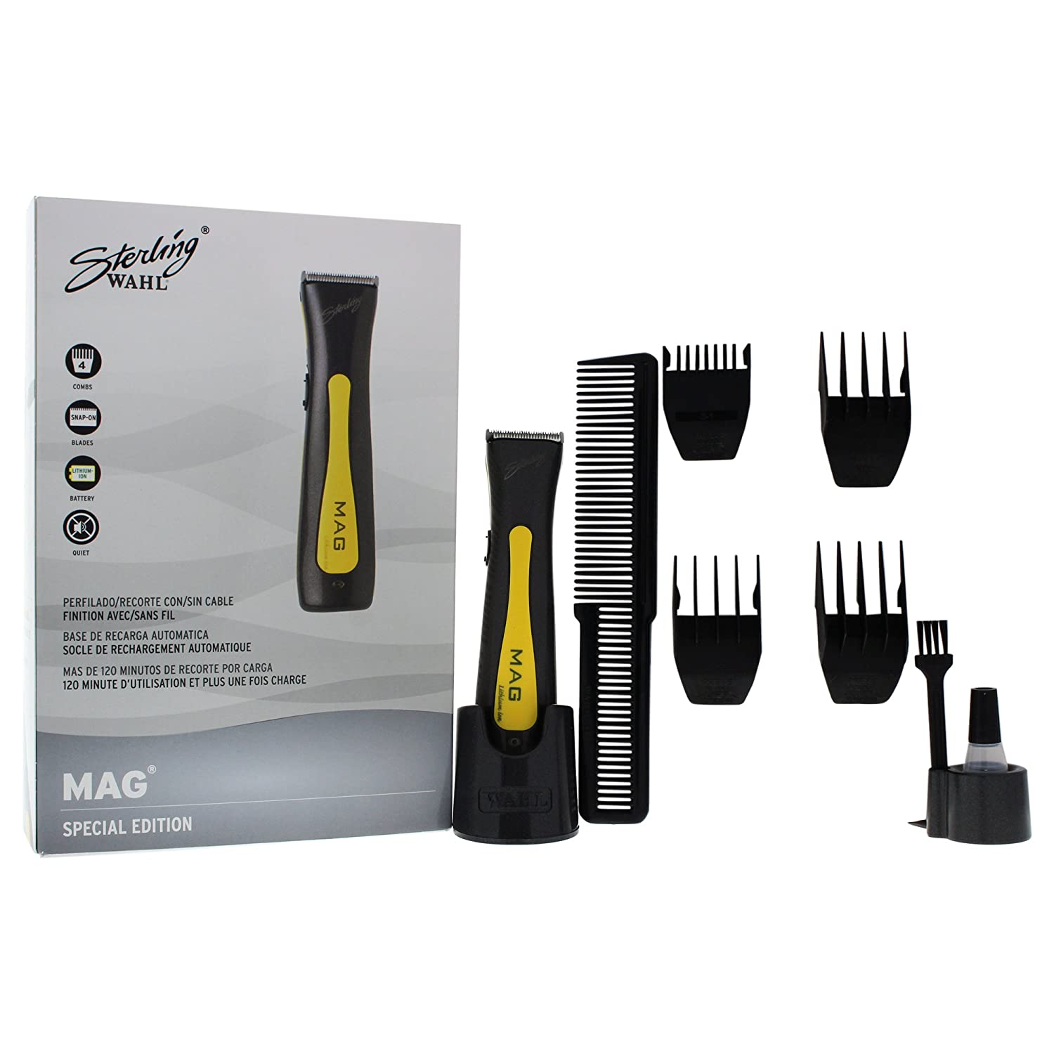 Amazon.com: WAHL Professional Sterling Mag for Men, Play Mat Kit Clipper/trimmer: WAHL Professional: Beauty