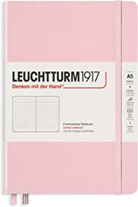 Leuchtturm1917 Special Edition Muted Colors Hardcover A5 Medium Dotted Notebook - Powder