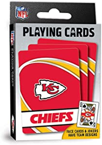 MasterPieces NFL Kansas City Chiefs Playing Cards