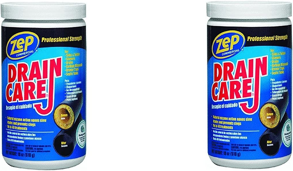 Zep Drain Care (18 oz/510 g) (Pack Of 2)