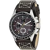 Fossil End of Season Decker Chronograph Brown Dial Men's Watch - CH2599