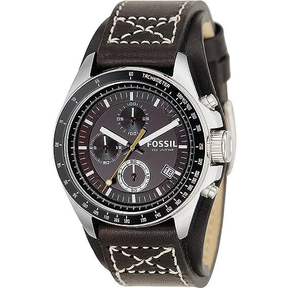 Fossil CH2599 - Reloj (Reloj de pulsera, Masculino, Acero inoxidable, Negro,