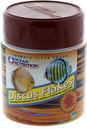 Ocean Nutrition Discus Flake Food 1.2OZ