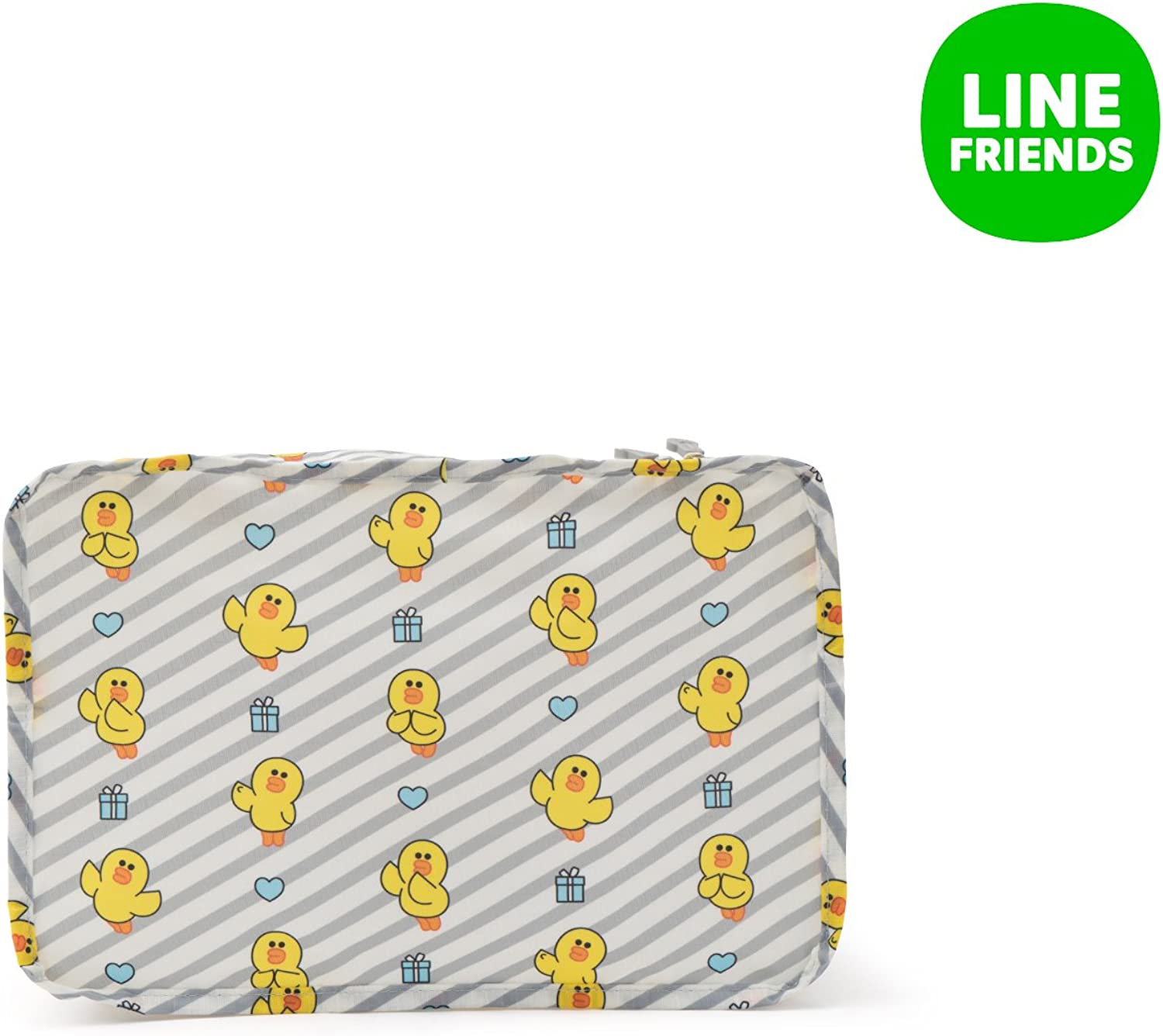 LINE FRIENDS Monopoly Sally Clothes Pouch S Gray/_Yellow