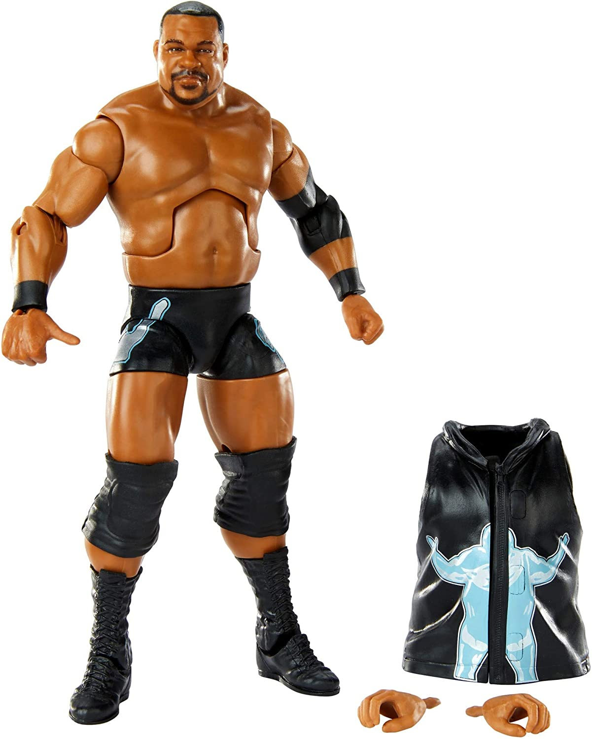WWE Keith Lee Elite Collection Series # 82 Action Figure 6-in//15.24-cm Posable Collectible Gift Fans Ages 8 Years Old /& Up