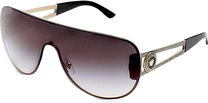 Amazon.com: Versace VE2166 gafas de sol, Dorado: Versace ...