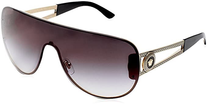 7e1d17694effd Amazon.com  Versace VE2166 - 12528G Gold Grey Sunglasses  Versace ...