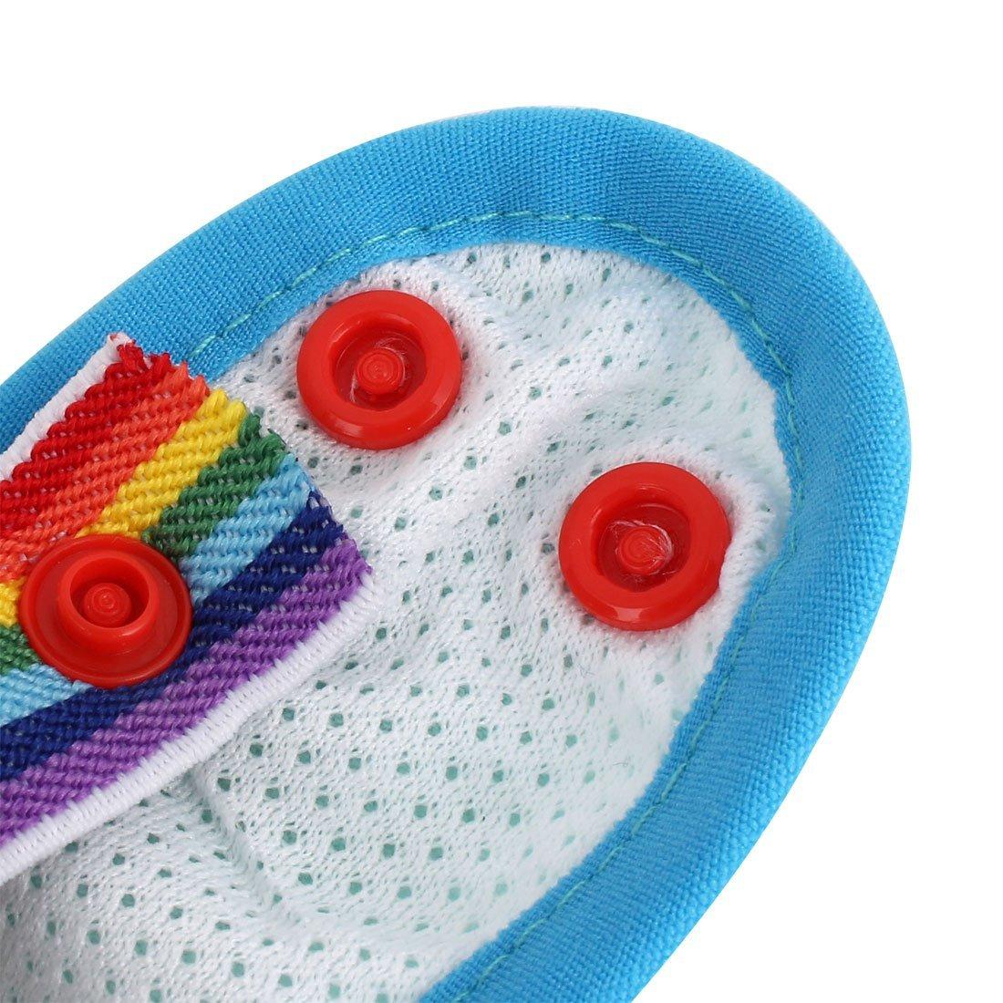 Amazon.com : eDealMax Mezclas de algodón Para mascotas Puntos Sanitaria bragas de la ropa Interior del perrito del perro del pañal Pantalones Azules XS ...