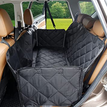 Dog Seat Cover With Flaps DSTANA Waterproof Car Covers For Dogs Scratch