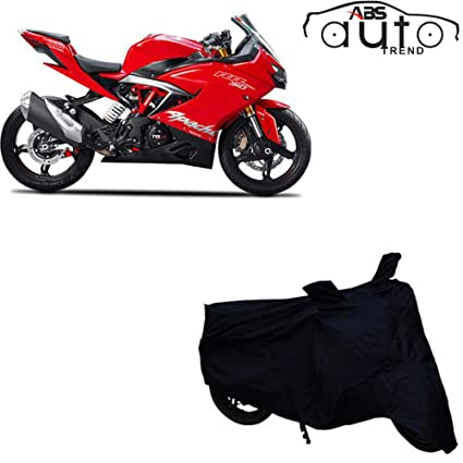 ABS AUTO TREND Bike Body Cover for TVS Apache RR310 (Free Anti-Pollution  Face Mask)