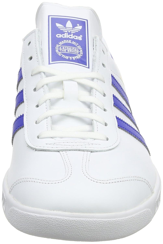 new concept 40f13 dd382 adidas Hamburg, Sneaker a Collo Basso Uomo, Bianco (Ftwr WhiteBold BlueGold  Met.), 46 EU Amazon.it Scarpe e borse