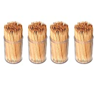 Invero® 600 x Pack of Party Wooden Cocktail Sticks
