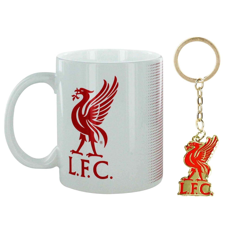 originelle Fu/ßballgeschenkidee /Offizieller Liverpool-FC-Schl/üsselanh/änger Official Liverpool FC Gifts Autozubeh/ör