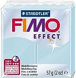 Staedtler - Fimo Effect - Pain Pâte à Modeler 57 g Effet Pierre Précieuse Bleu Cristal
