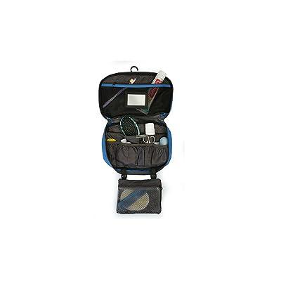 Native Planet Portable Travel Organizer Hanging Toiletry Bag Max, Blue / Grey