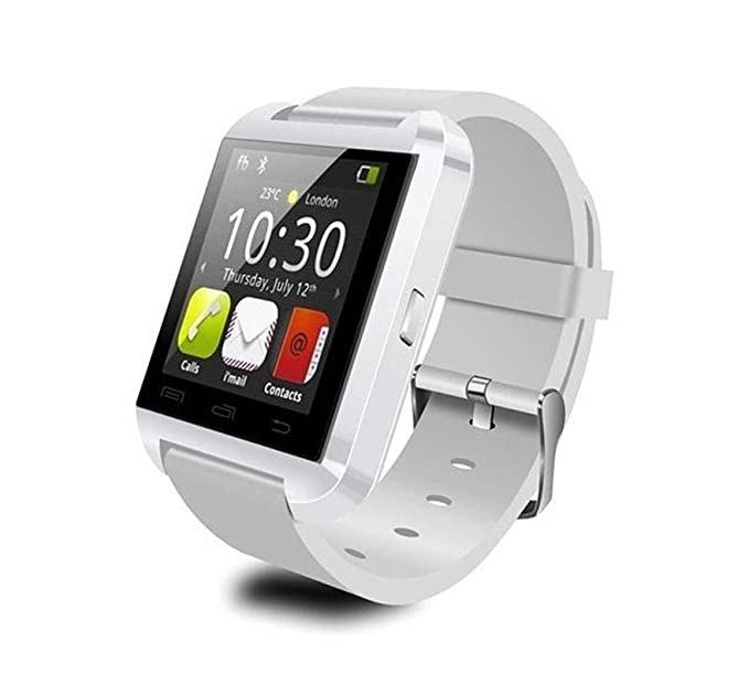 Reloj Inteligente Smartwatch Smart Watch con Bluetooth Color BLANCO para Deporte Ciclismo y Running Bicicleta 4316: Amazon.es: Relojes