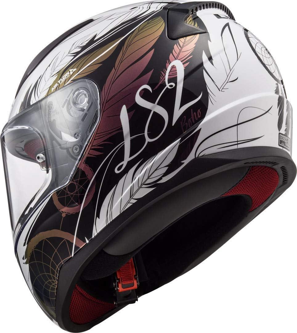 65//66 LS2 FF353 Rapid Deadbolt Helm Schwarz Matt//Blau XXXL