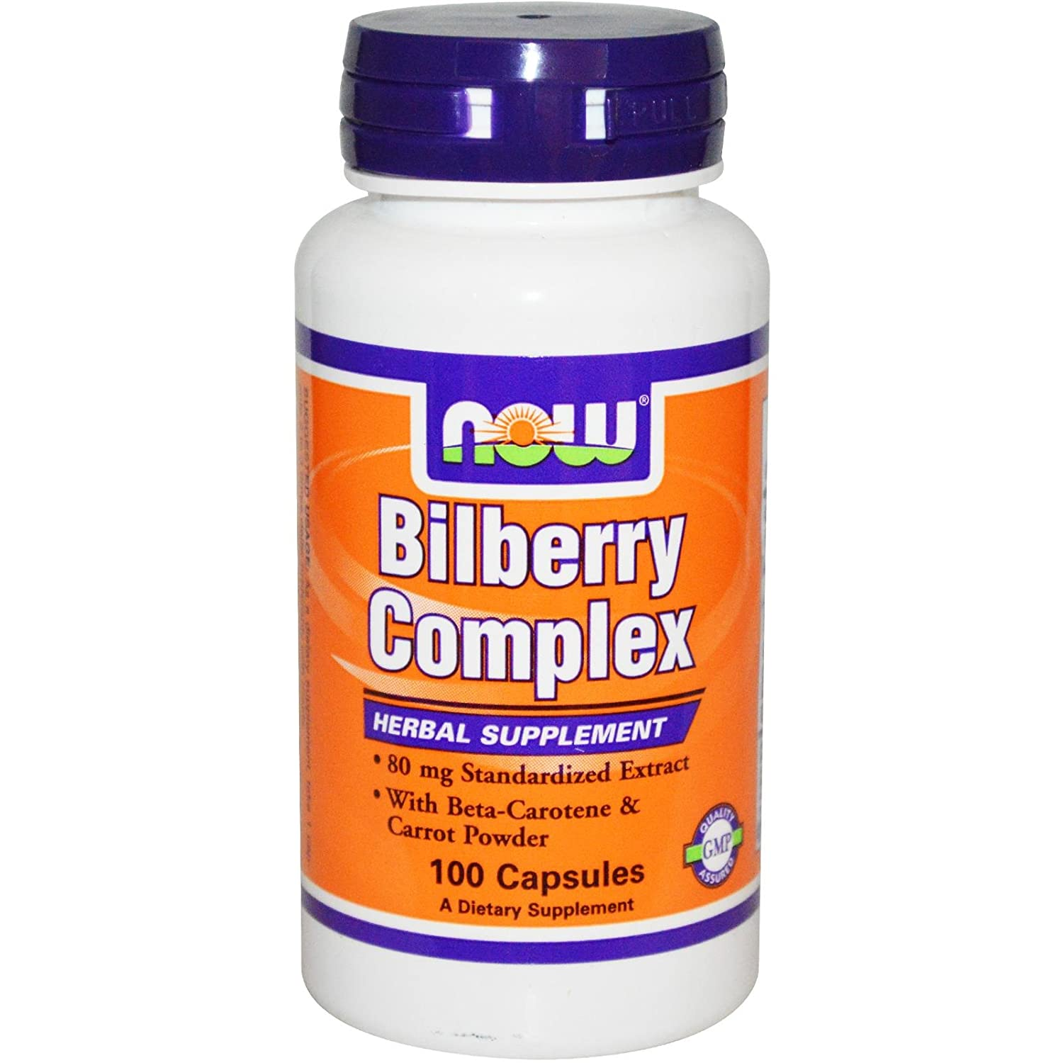 NOW Foods Bilberry Complex Plus Image 1