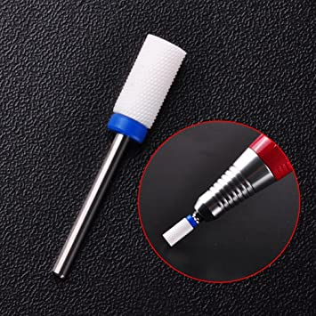 Amazon Com Biutee 1 X M Size Nail Drill Ceramic Foot Drill Bit Nail Art Salon Electric Drill Manicure File Nail Art Tools 2 Beauty