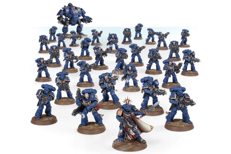 Warhammer 40K: Space Marines Battalion Detachment
