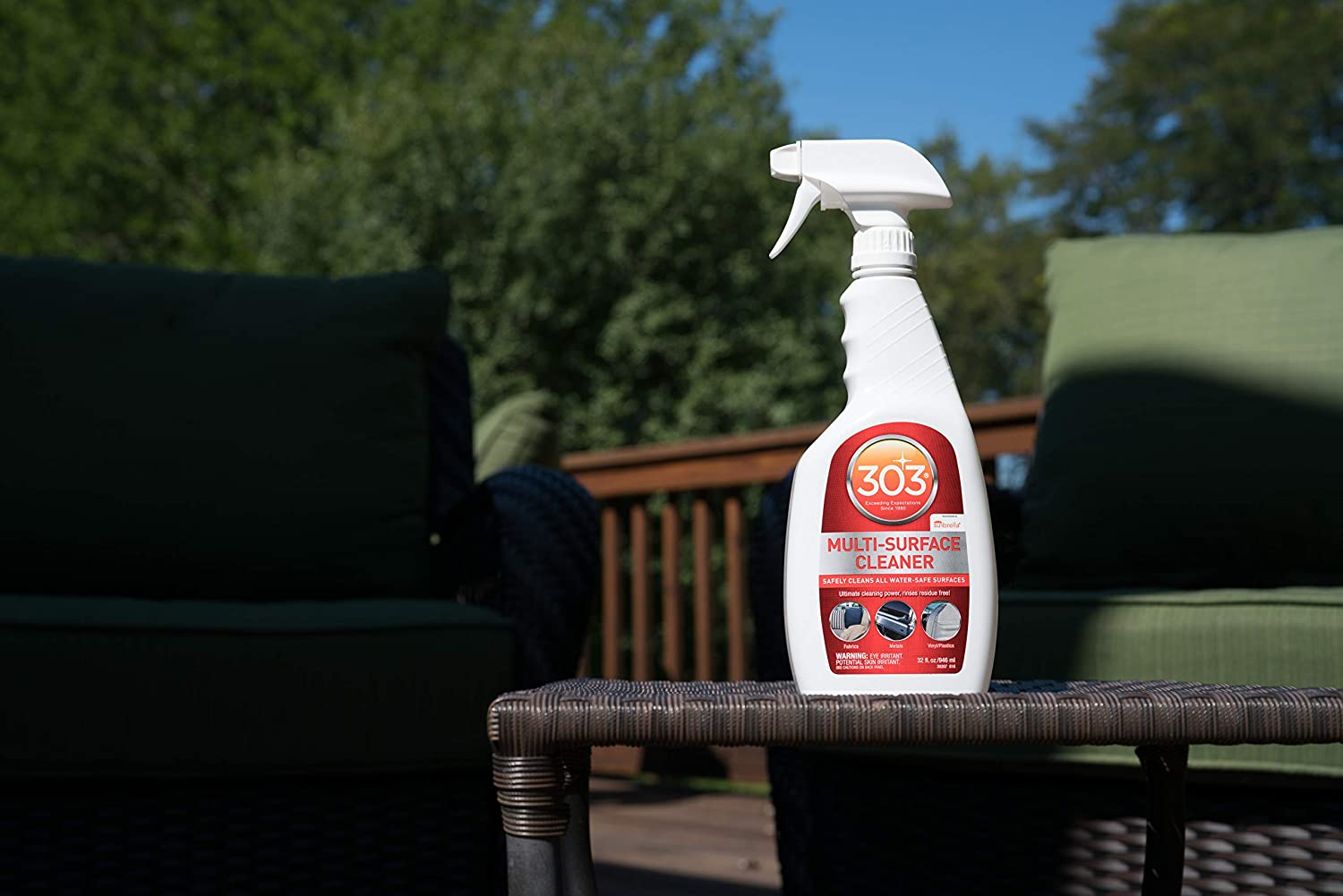 Amazon com 303 multi surface cleaner spray all purpose cleaner for home patio and outdoor 16 fl oz automotive