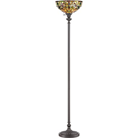 Quoizel TF878UVB, Kami, 1-Light Floor Lamp, Bronze - Floor Lamps ...