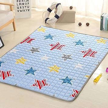 Fenfen Colchonetas para colchones para niños [Dormitorio para Estudiantes] Colchonetas para tapete con tapete de algodón Tatami (Tamaño : 200 * 200cm): ...