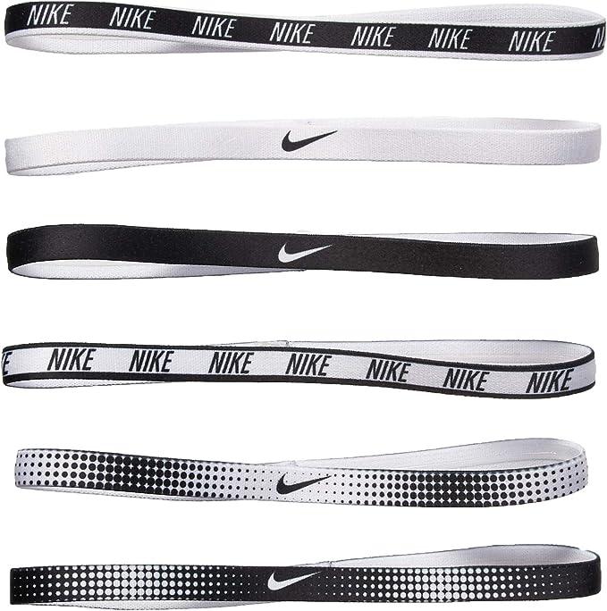Prestigio alias Querer  Amazon.com: Nike Women's Printed Headbands Assorted 6PK White/Black Size  One Size: Sports & Outdoors