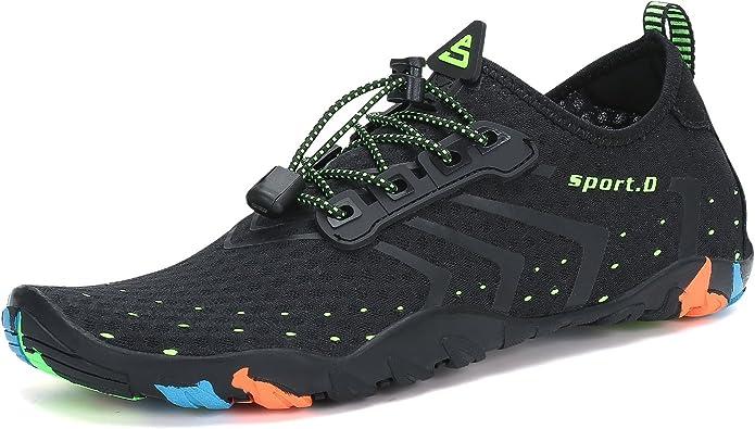 Amazon.com | Mishansha Mens Womens Water Shoes Quick Dry Barefoot ...