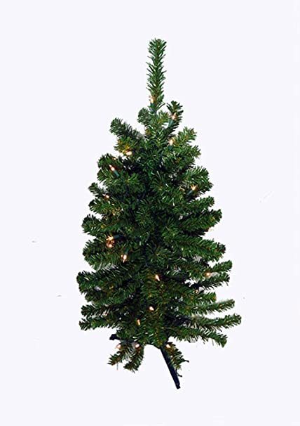 darice 3 battery operated pre lit led pine artificial christmas tree clear lights - Battery Operated Christmas Tree