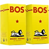 Red Rooibos Tea in Unbleached Tea Bags ~ Organic, Natural, Caffeine Free & Delicious, Rich in Antioxidants, Electrolytes & Minerals, Sustainably Produced in South Africa, 80-Pack by BOS