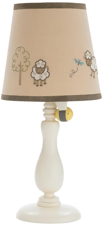 Lamp and Shade NoJo Play Ball Navy//Red//Indigo//Ivory//Brown