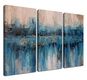 Blue Abstract Art Prints