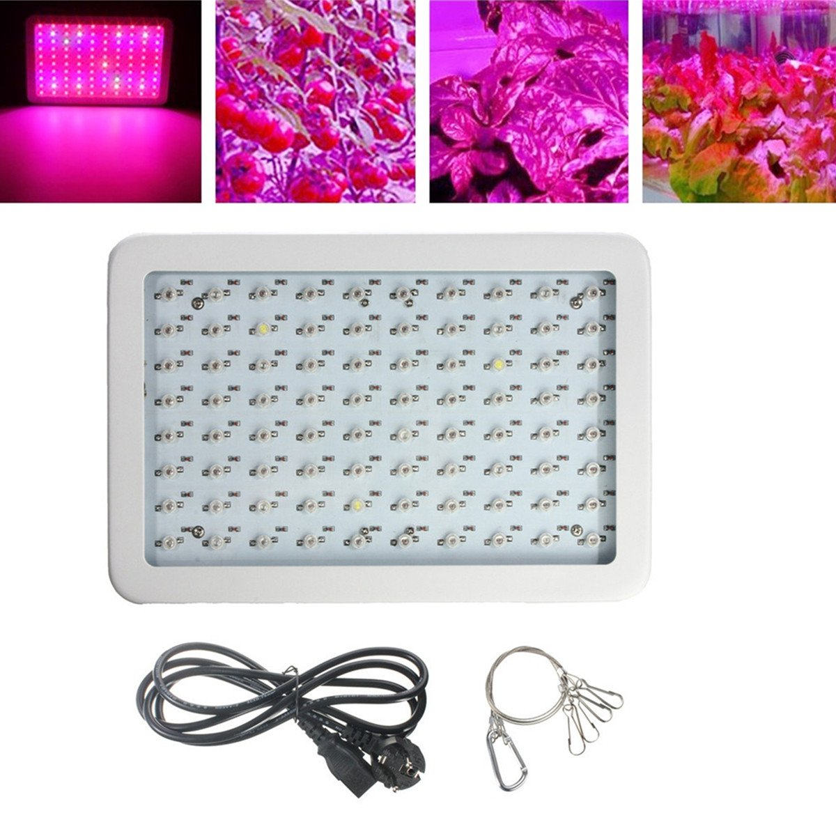 KING DO WAY 100w Pflanzenleuchte LED Grow Light spektrum führte ...