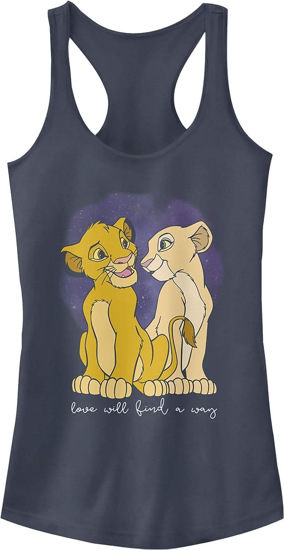 Lion King Juniors Cub Love Finds A Way Racerback Tank Top