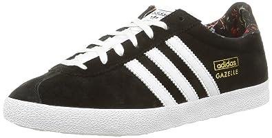 new styles 87b8e 46c6d adidas Gazelle Og, Sneakers Basses femme - Noir (Core BlackWhiteGold