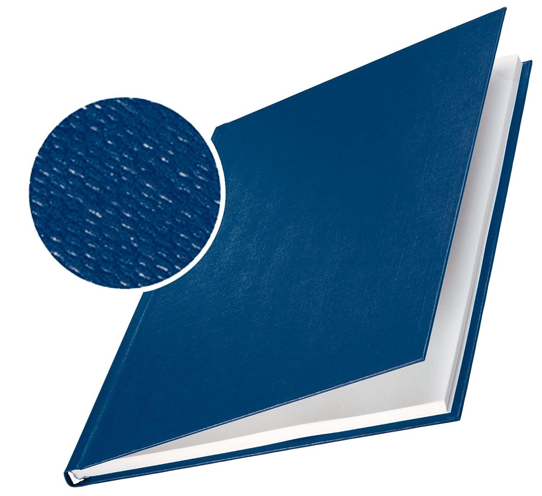 Leitz 73960035 Buchbindemappe impressBIND, Hard Cover, A4, 24,5 mm, 10 Stück, blau 10 Stück Esselte Leitz SC-MS-7396-00-35