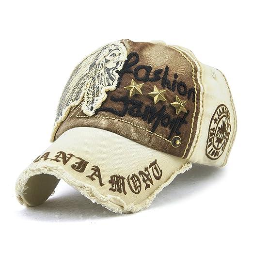 ZWZHI Unisex Baseball Cap Breathable Embroidery Pentagram Dad Hat  Adjustable at Amazon Men s Clothing store  b531cd47094