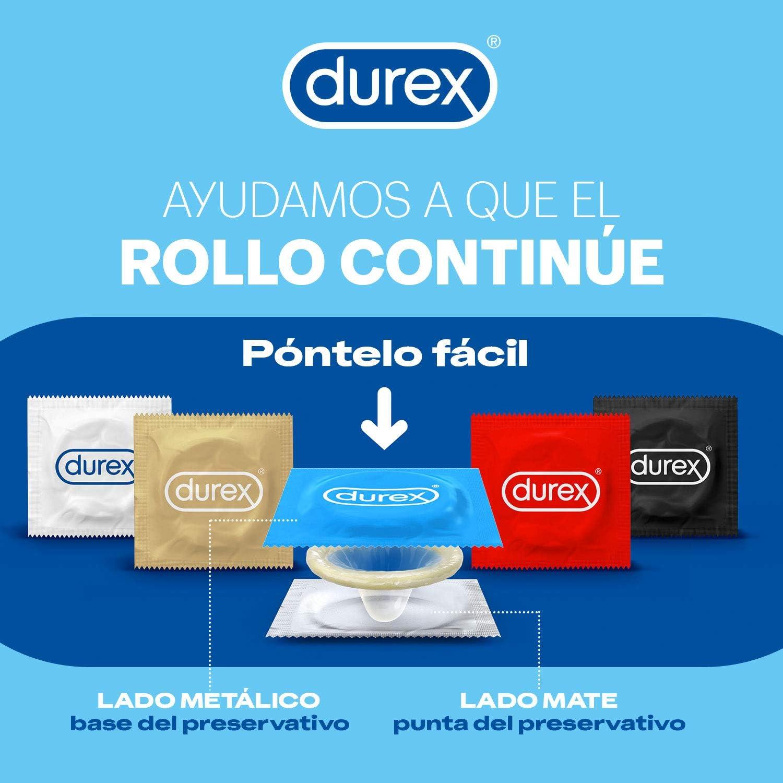 71%2BUR7HUGIL._AC_SL1500_ Durex Preservativos Super Finos Contacto Total - 12 condones: Salud y cuidado personal
