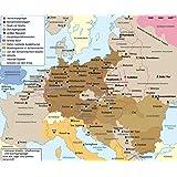 Amazon.com: 24x36 Poster; War Dept Map Of World War II Europe ...