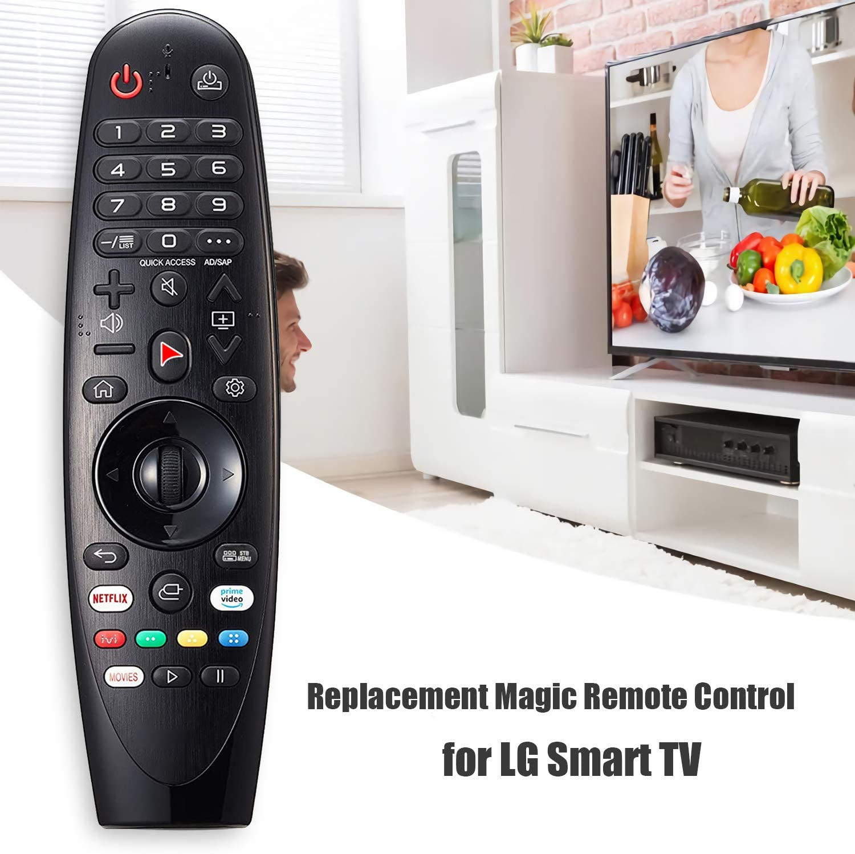 Reemplazo Mando a Distancia para LG Magic Control AN-MR19BA – 2.4GHz Wireless Universal Remote Control For LG Smart TV AN-AM-HR600 AN-MR18BA AN-MR650A: Amazon.es: Electrónica