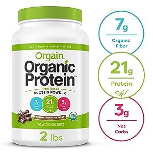 Orgain Organic Plant