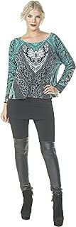 product image for Eva Varro Women's Over The Knee Leatherette Legging