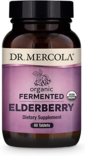 Dr. Mercola Fermented Elderberry Dietary Supplement