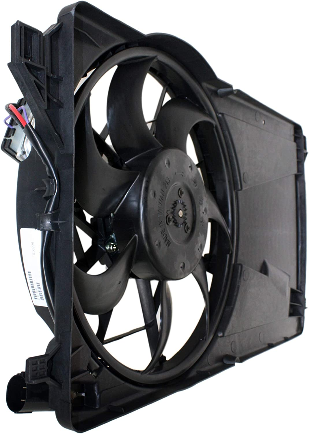 Garage-Pro Cooling Fan Assembly for MAZDA 3 2004-2009 with Control Module