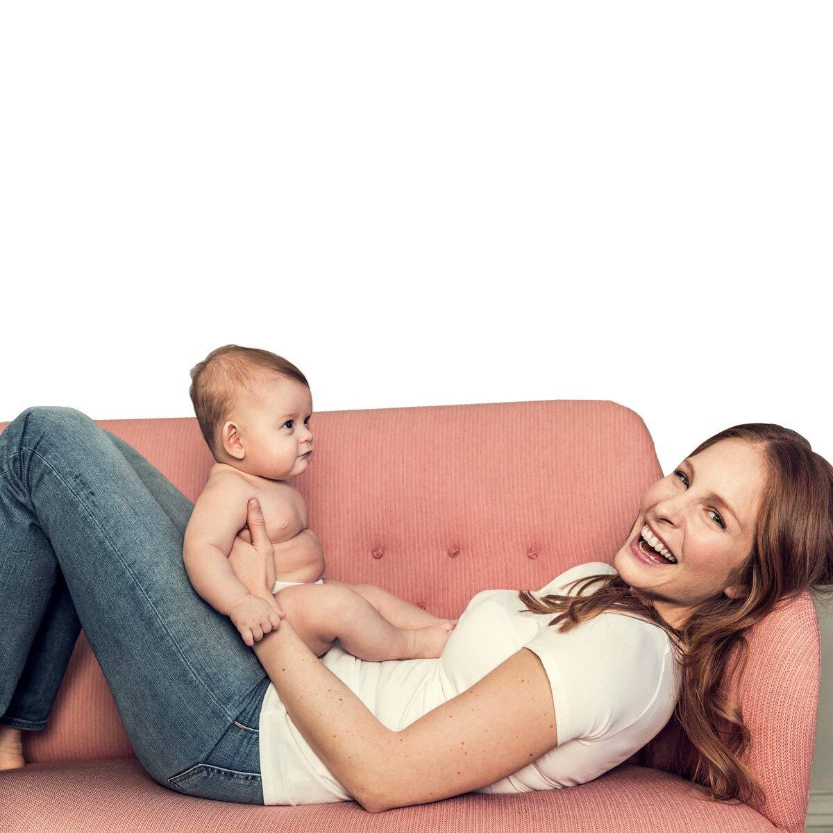 Boob Round Neck Short Sleeve Maternity Nursing Top