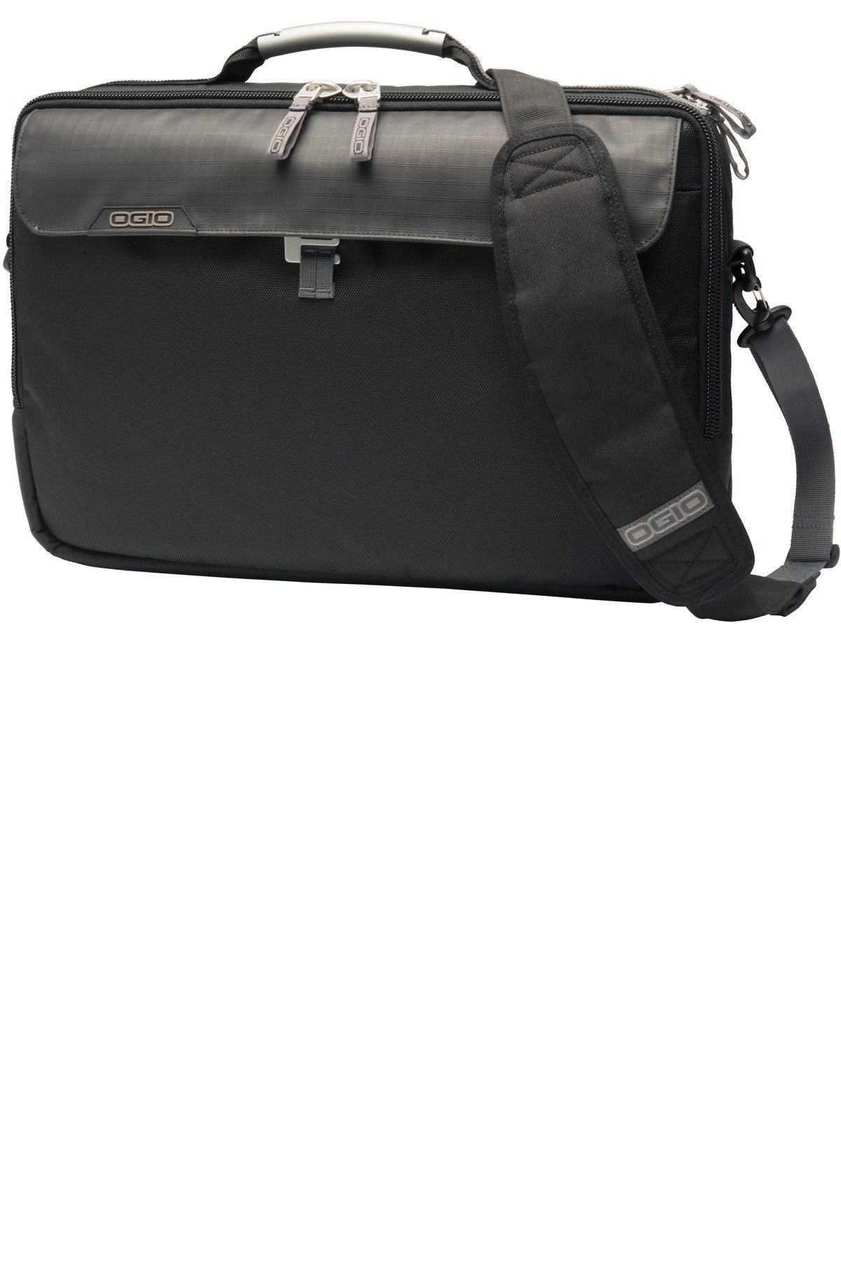 OGIO 417053 Pursuit Messenger Bag, Black