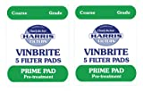 2x Harris Prime Pre-Filter Pads 5-pack Use with