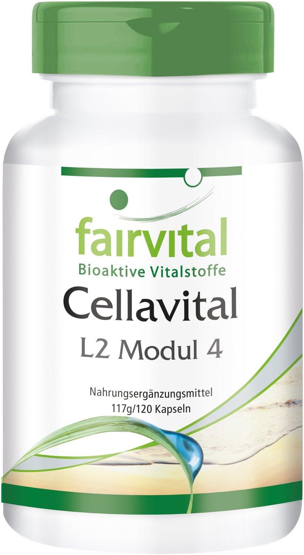 Cellavital - Dosis elevada - 120 Cápsulas - Antioxidantes en complejo con acetil-L-carnitina, taurina, Q10 y más - Calidad Alemana