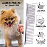 UIUIX Tear Stain Remover Combs for Cat Dog, 5